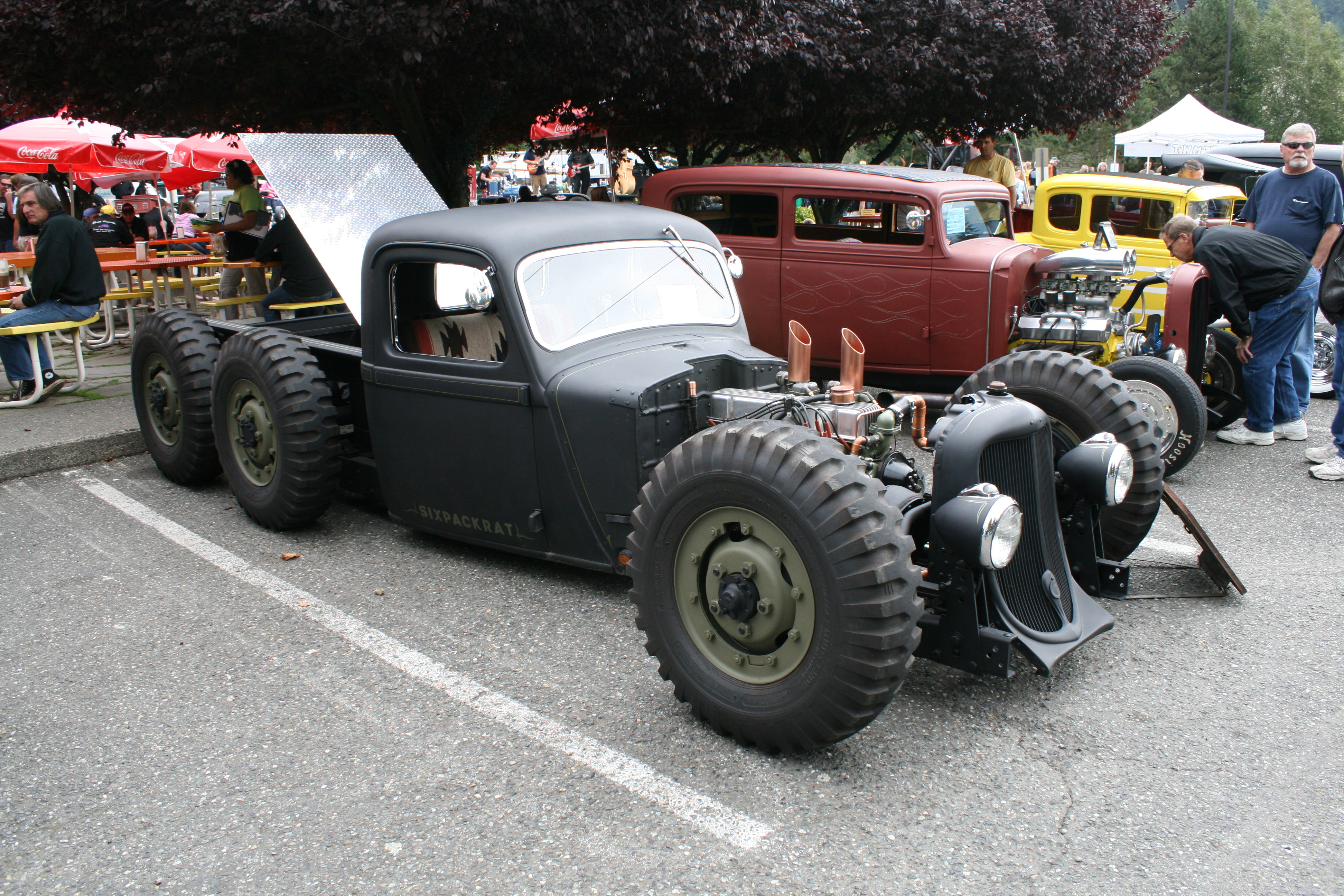 6×6 Street Rod is all about Grip | SQUAREBORE